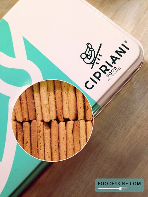 Cipriani food. Pasta e biscotti dell'Harry's Bar di Venezia