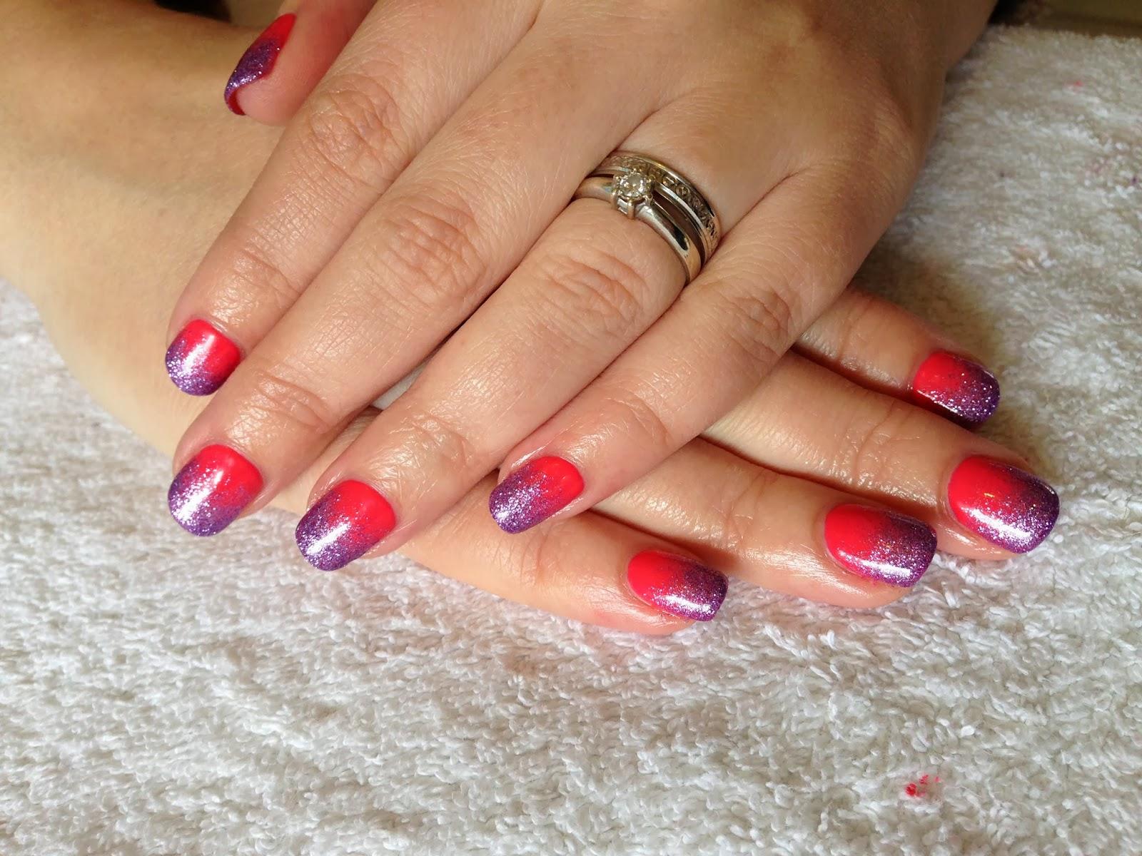 Brush up and polish up cnd shellac nail art tropix glitter fade cnd shellac nail art tropix glitter fade prinsesfo Image collections