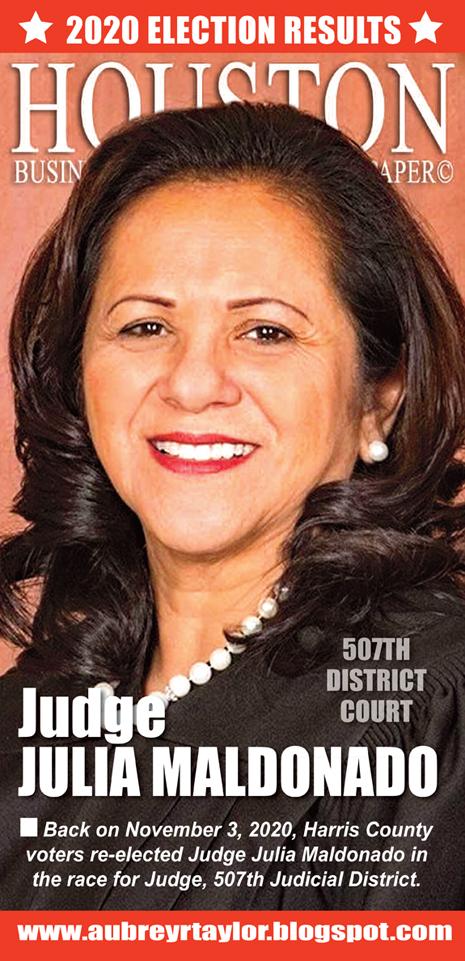 Our client Judge Julia Maldonado defeater her Republican challenger on November 3, 2020