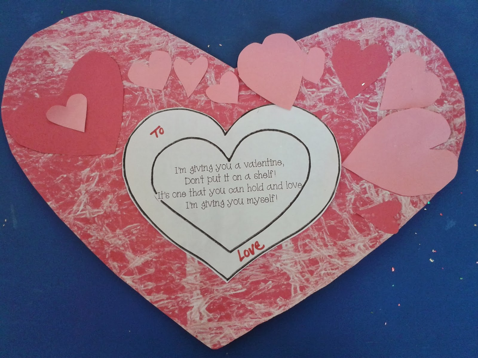 Teach Easy Resources Show the Love Valentines Day Cards for Parents – Valentines Day Card Examples