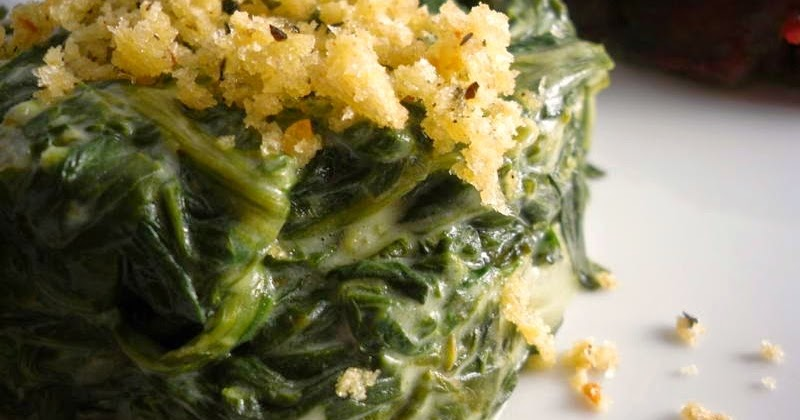 comfy cuisine: boursin creamed spinach