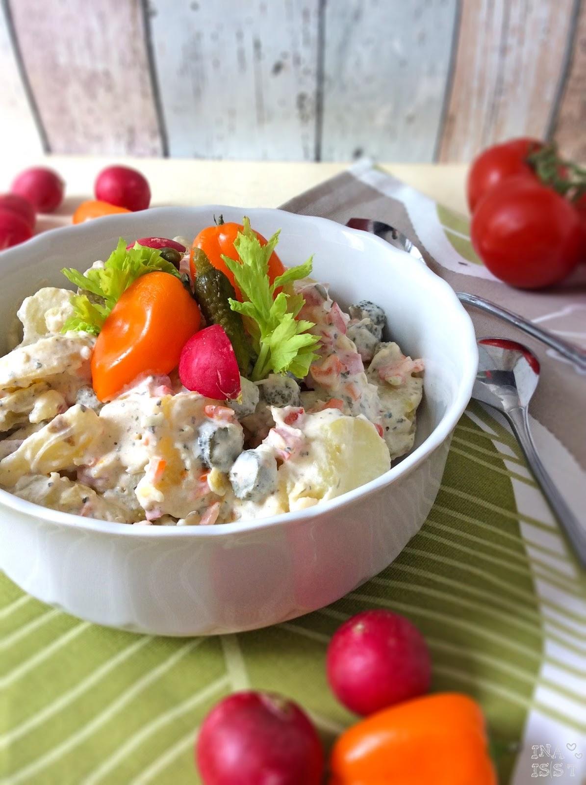 Kartoffel joghurt salat