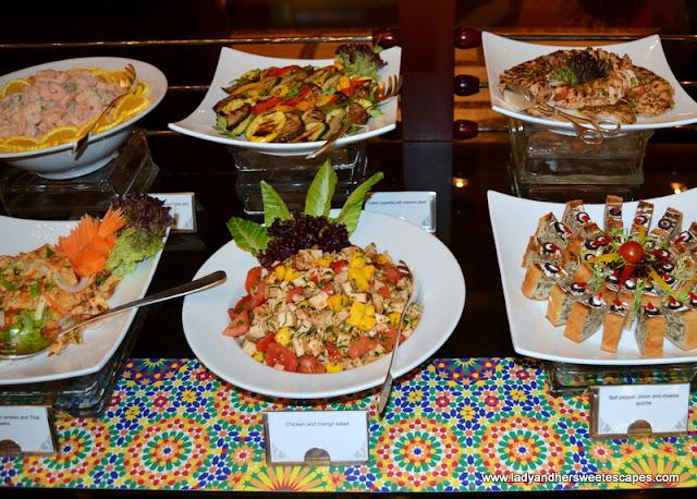 salads at Dusit Thani