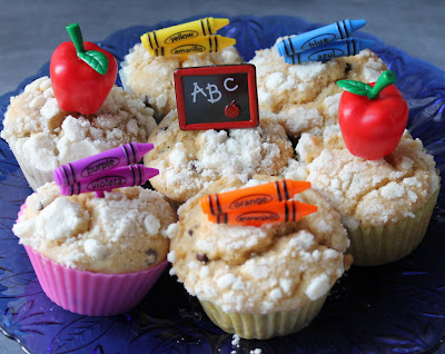 First day of School After School Snack (muffins) - www.mamabelly.com