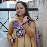 Usha Photos in Salwar Kameez at Gundello Guchi Guchi Champake Movie Press Meet 7