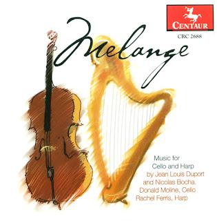 Nicholas Charles Bochsa – Duport, J.-L. / Bochsa, N.C.: Cello and Harp Music (Melange)
