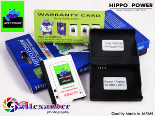Baterai Blackberry Double Power FS-1 Hippo Power
