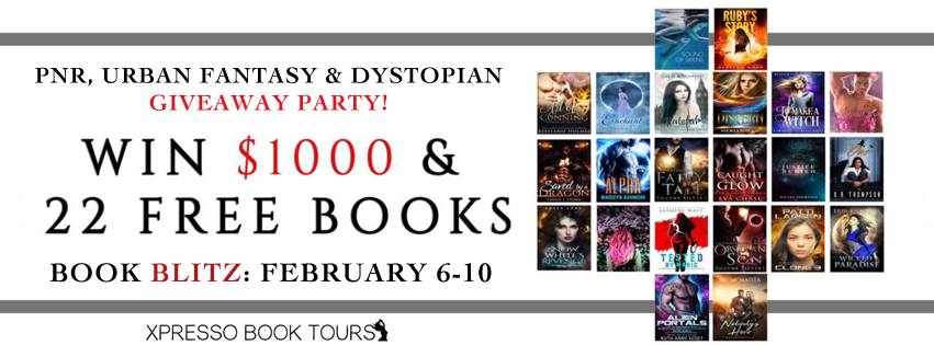 PNR, Urban Fantasy, Dystopian #Giveaway Party