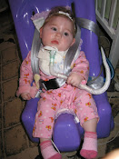 The trach was scary at first, but look how healthy she looked just 6 months later!
