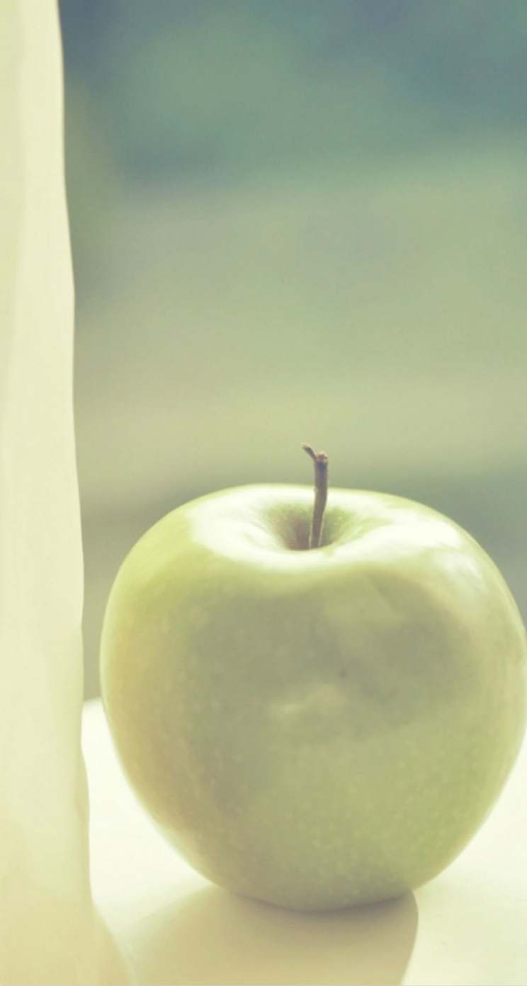 Pure Green Apple Iphone 5s Wallpaper Free Download