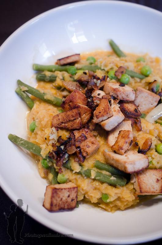 Curry Rouge De Lentilles Corail Aux L Gumes De Printemps
