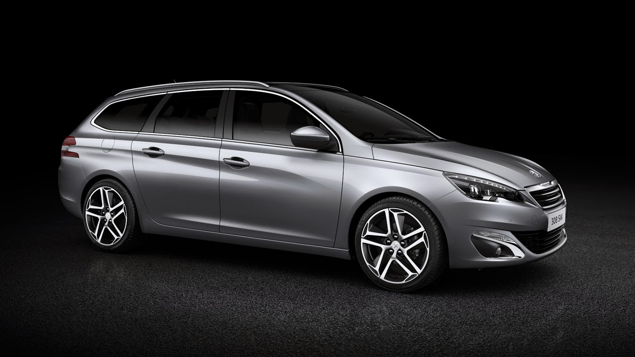 New Peugeot 308 SW - Sleek and Spacious rear side