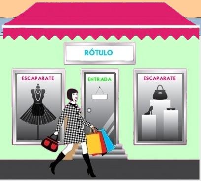 Merchandising dise o exterior del establecimiento for Personal en el exterior