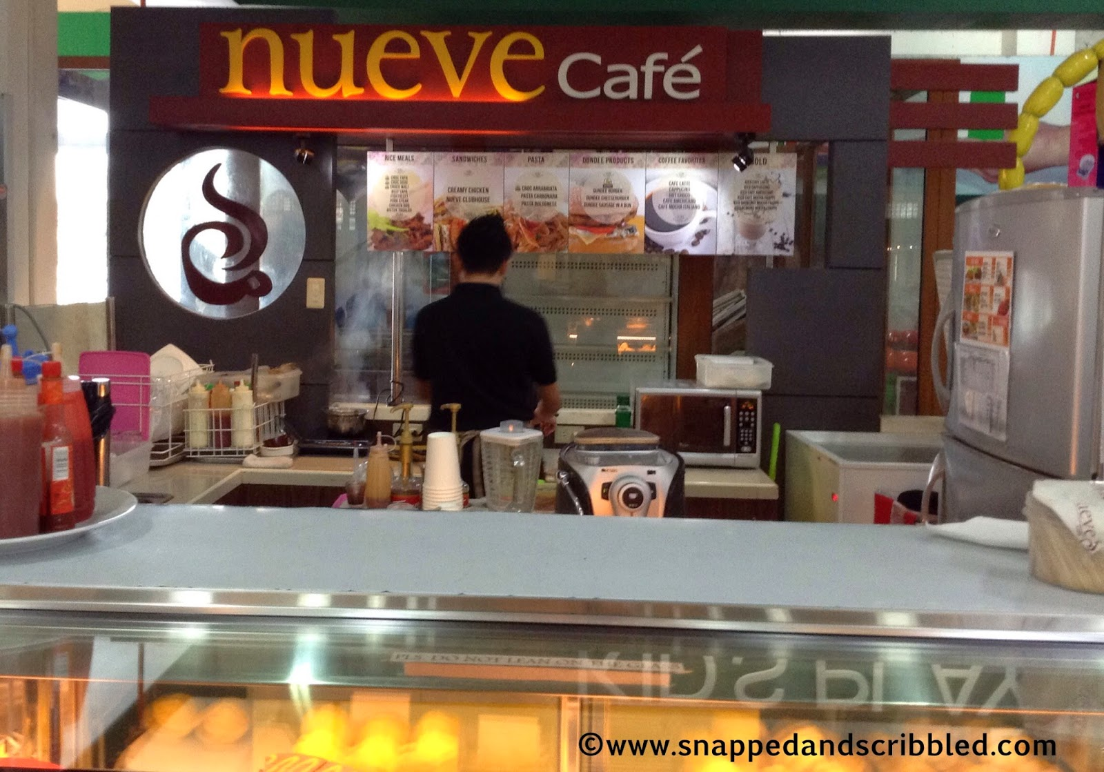 Where To Eat Crocodile: Nueve Cafe at Wilcon