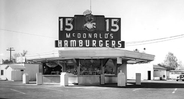 Ultimate Collection Of Rare Historical Photos. A Big Piece Of History (200 Pictures) - First McDonald's