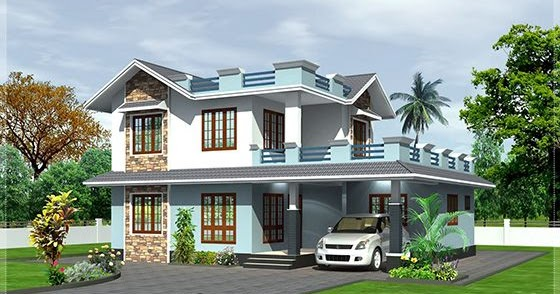 2100 square feet home elevation kerala home design and for 2100 sf house plans