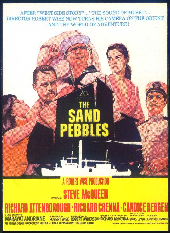 the sand pebbles by richard mckenna essay Mckenna, richard [milton] (1913-1964) richard mckenna was a career naval enlisted man whose 1962 novel the sand pebbles is a classic of naval fiction mckenna's childhood in mountain home, idaho, was enriched by his great habit of reading, but when he entered the navy at age eighteen, he found it difficult to keep that habit alive due to.