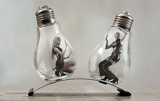 Light Bulb Art Ideas