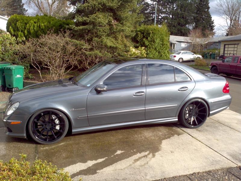 Mercedes benz e55 amg w211 adv1 rims benztuning for Mercedes benz e55