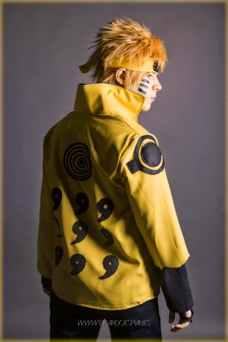 Naruto Rikudo Mode COsplay