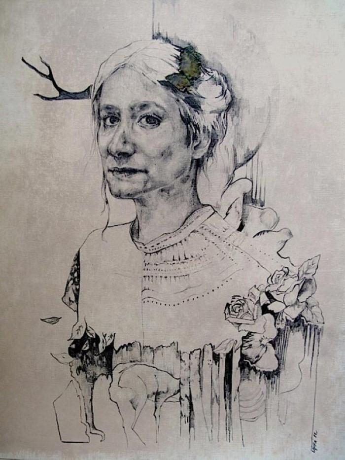 Magdalena Lamri. Современная художница