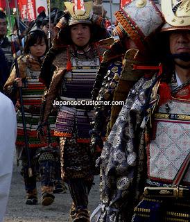 Jidai Matsuri Tokyo Samurai Warriors copyright peter hanami 2012