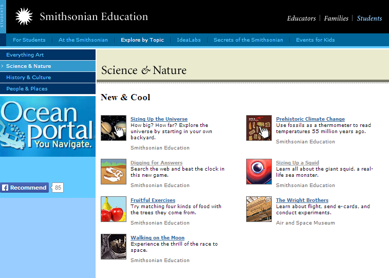 Zoology top websites for students