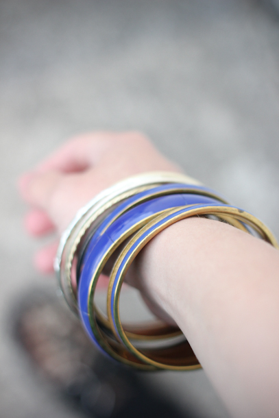 Thrifted bracelets