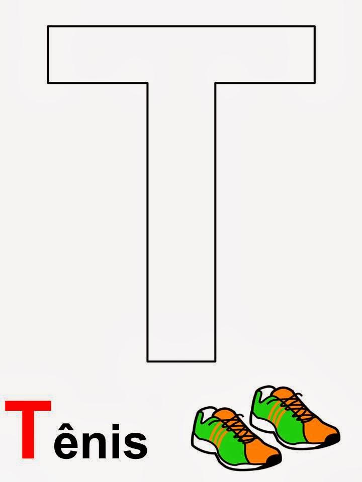 alfabeto tênis