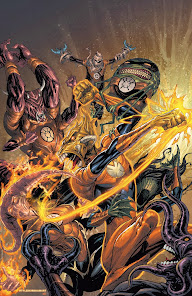 Larfleeze the living power battery!