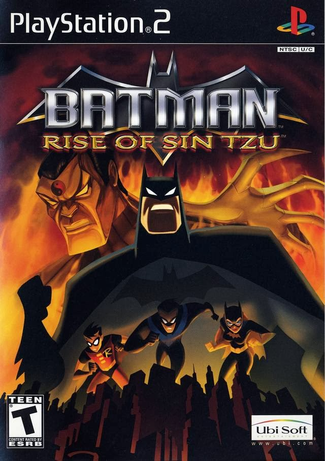 BATMAN RISE OF TZU PS2 ISO