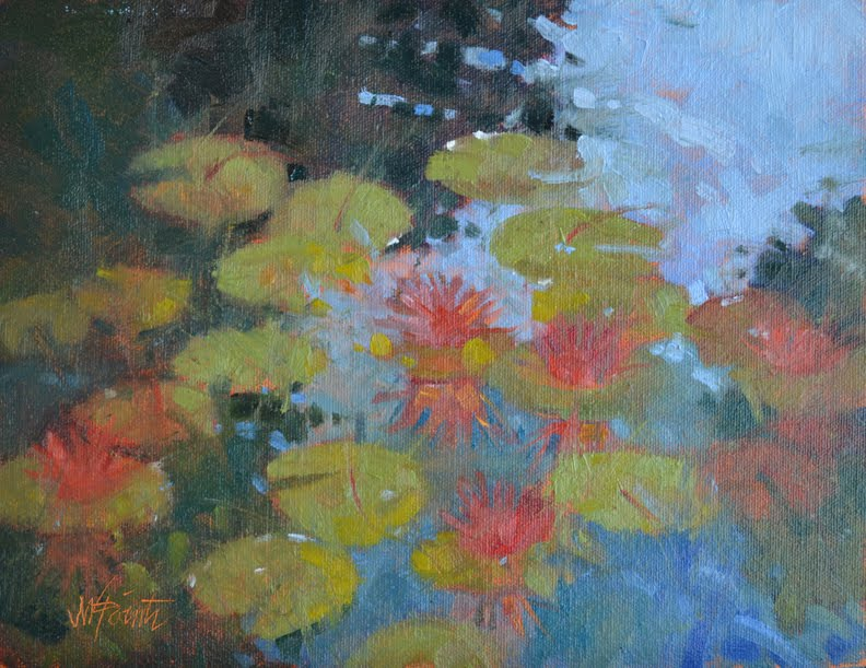84 best Water Lily Paintings images on Pinterest