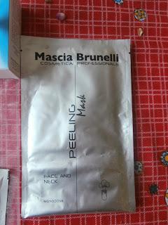 Maschera effetto peeling