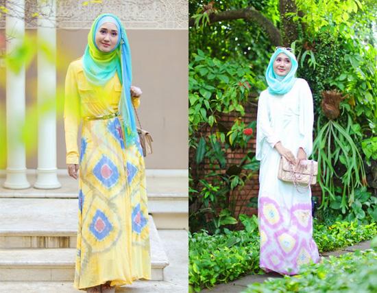 Fashionholic Gaya Busana Muslim Dian Pelangi Saat Lebaran