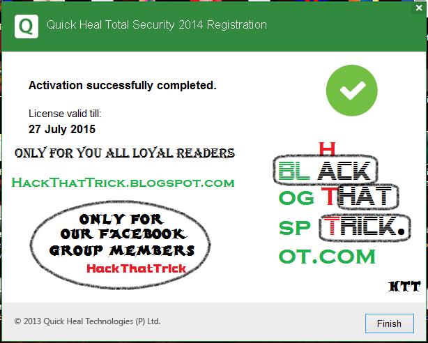 quick heal antivirus pro 2016 registration product key