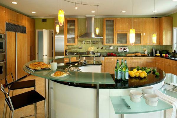 10 fotos de cocinas con isla ideas para decorar dise ar y mejorar tu casa - Cocinas con islas ...