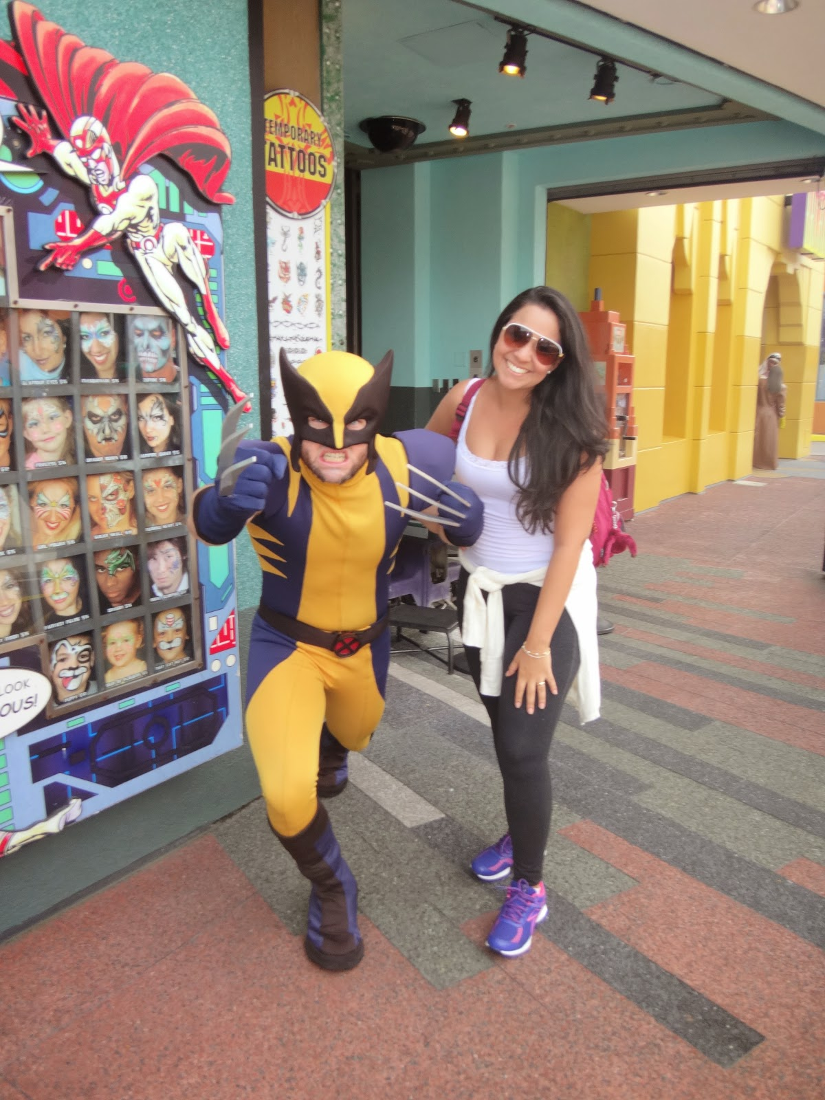 wolverine - island of adventure - orlando, estados unidos