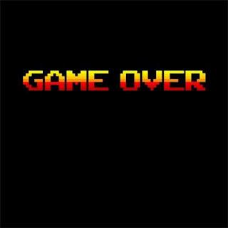 GAME OVER, puedes jugar bien y perder la partida.