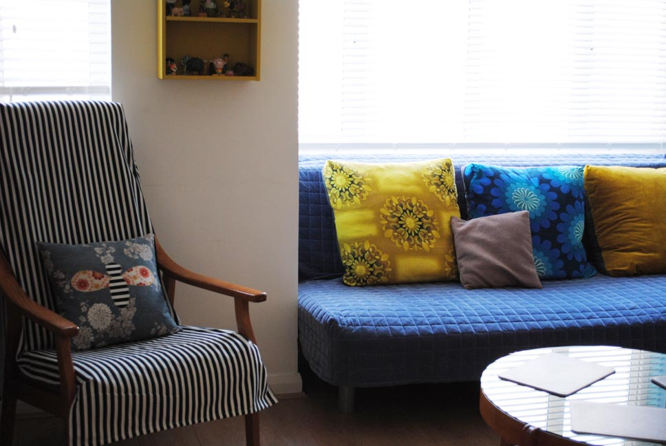 Happy To Make Home Decor Blue And Yellow