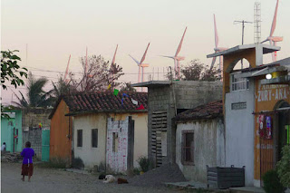 The Mexican windfarm at Tehuantepec which services Walmart not the poor