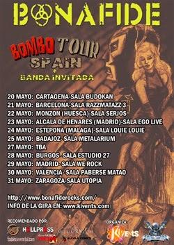 Gira por España de Bonafide en mayo
