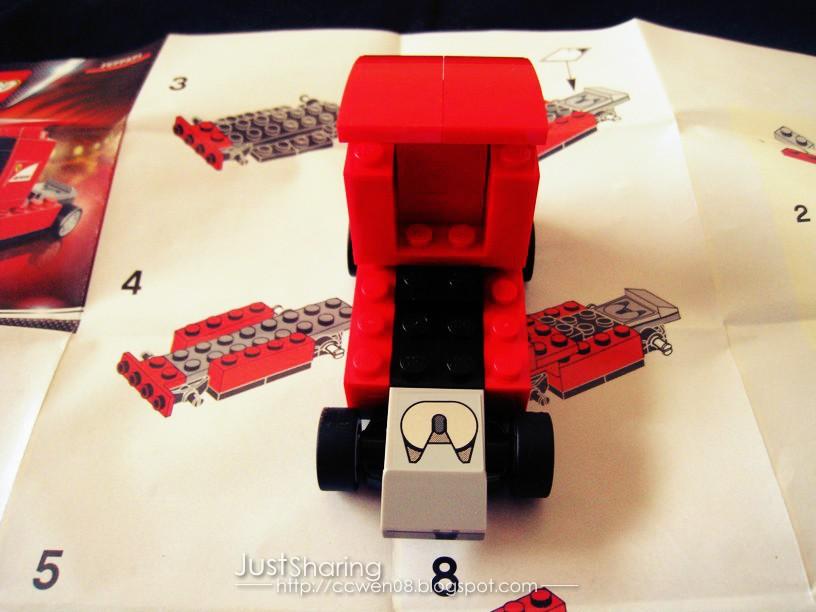 Just Sharing 文の分享站: Shell LEGO Ferrari Miniature - Scuderia ...