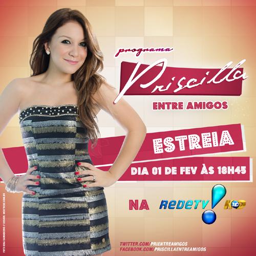 Priscilla Alcantara estreia na Rede TV