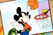 Mickey Fare Basket Oyunu 
