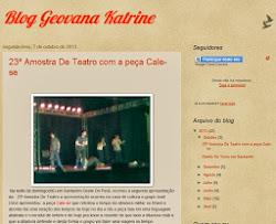 Blog da Geovana