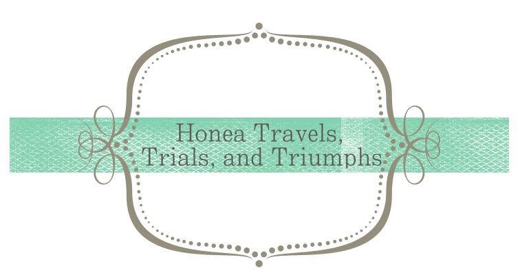 Honea Traveling, Trials and Triumphs
