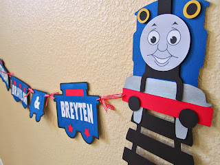 Thomas the Train banner