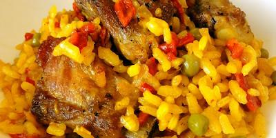 receta arroz con cerdo y aji