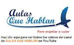 El canal de AULAS QUE HABLAN en YouTube