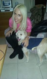 Βρέθηκε σκυλάκι στο Περιστέρι. Δεν είναι πάνω από 6 μηνών.